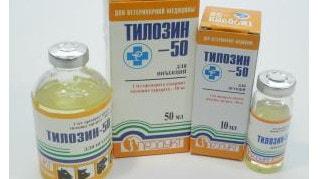применение тилозина 50 для лечения собак кошек